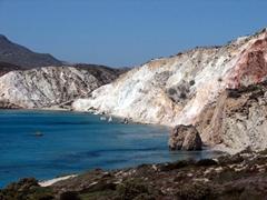 Our first glimpse of Firiplaka Beach