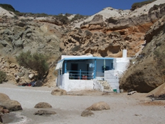 Beach shack; Firiplaka