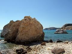 Massive rock formation; Firiplaka