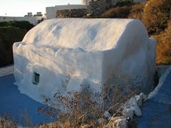 Small church adjacent to Plaka's Thalassitras Church