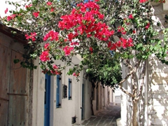 Side alleyway; Halki