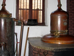 "The Vallindras Distillery is still making citron the ""old fashioned"" way, passing down generational secrets since 1896"