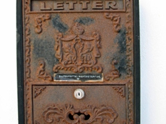 Even Kastro's letterboxes have an antique look/feel to them!