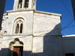 Another view of the Roman catholic church in Kastro