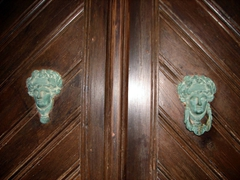 We loved seeing Kastro's unique door knockers