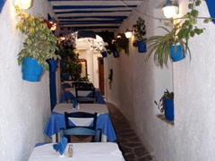 There are plenty of romantic dining opportunities in Old Naxos Town