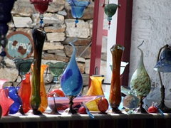 Glassworks on sale at Michalis Glass store