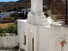 For such a small village, Lefkes sure had a lot of church bell towers!