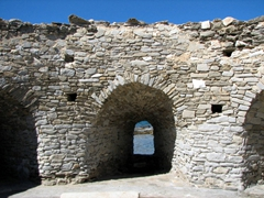 Interior of the fort; Naoussa