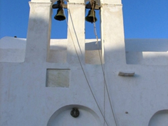 Bell tower of Agios Konstantinos Church