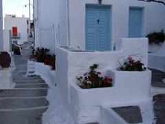 Pleasant walkways through Hora