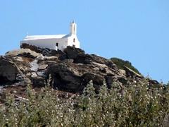 Cliff top church in Hora