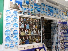 Huge selection of souvenir options; Hora