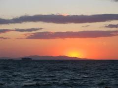 Sunset as seen from Little Venice