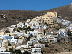 Ano Syros is an old Venetian settlement