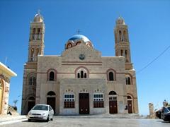 Greek Orthodox church Anastasis (the pinnacle of Ermoupolis)