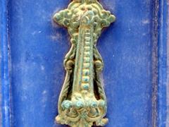 Old fashioned door knocker