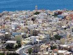 View of Ermoupolis