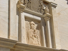 Church portal entrance; Ano Syros