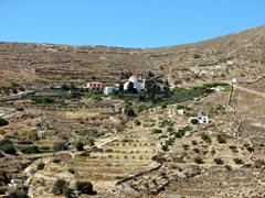 Surrounding countryside near Ermoupolis
