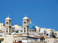 The gorgeous vistas of Ermoupolis