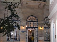 Evening shot of a picturesque mansion-cum-restaurant