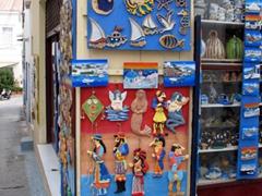 Souvenir shop in Spetses Town