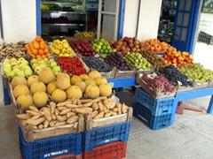Fruit market in Spetses Town