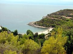 View of Xokeriza Beach