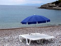 Pure bliss at the very empty Xokeriza Beach