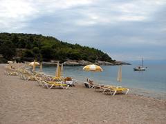 Agioi Anargyri Beach in the off season