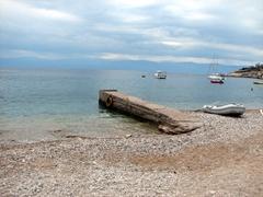 Pier at Agio Anargyri