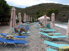 "Vrellos is also known as ""paradise"" beach and its a lovely pebble beach"