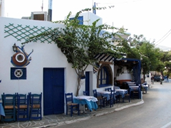 Road side restaurant; Apollonia