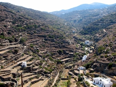 Kastro's gorgeous surrounding hill views