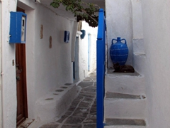 Typical view in medieval Kastro