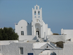 This church is the site of a huge celebration that occurs 40 days after Easter (the festival of Analipsos)