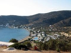Gorgeous Vathi Bay on Sifnos's west coast