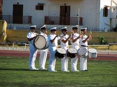 Rehearsal practice; Hellenic Naval Academy