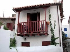 Picturesque balcony; Poros Town