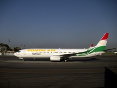 Tajikistan's first private airline, Somon Air