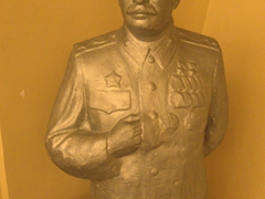 Statue of Stalin; Khujand's Sughd Museum