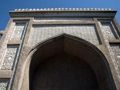 Beautiful exterior of Khujand's Jami Mosque
