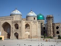 View of Sheikh Muslihiddin Mausoleum; Khujand