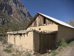 A traditional house in Sarotog Village