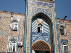 Entrance portal to Haji Yaqub Mosque