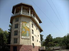 Cable car station; Dushanbe (note: this appears to have been defunct for years)