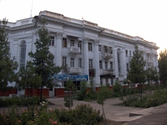 Gorgeous architecture abounds in relaxed Dushanbe