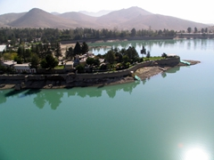Qargha Lake, a popular retreat for Kabul's upper class