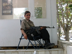 Guard, Kabul Safe house